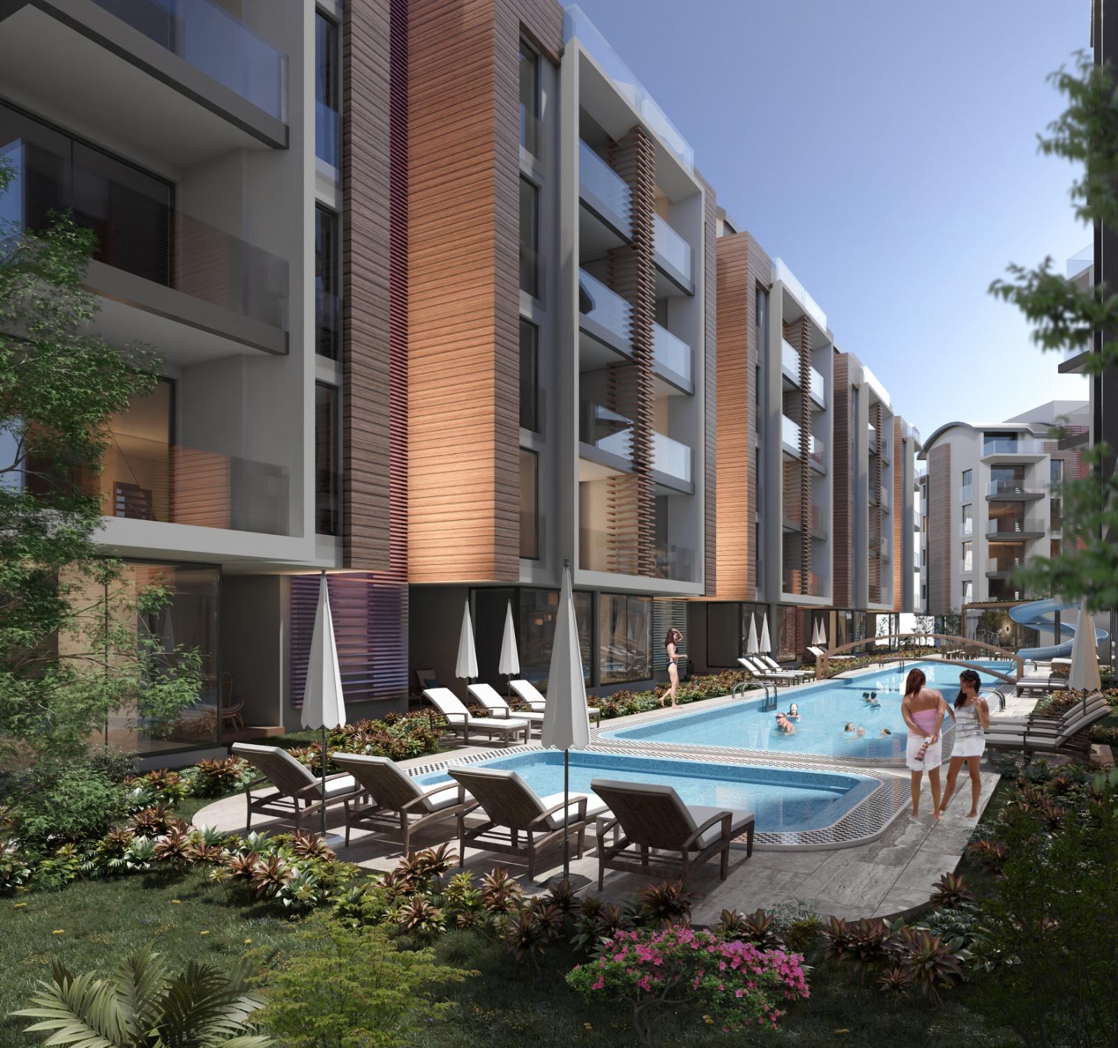 МАСШТАБНЫЙ ПРОЕКТ жилого комплекса люкс класса с богатой инфраструктурой